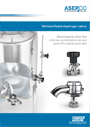 ASEPCO Weirless Radial diaphragm valve brochure