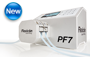 Flexicon PF7 tabletop filler